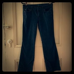 7 for all man kind jeans, size 28, Made in USA!